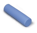 "Picture of Cervical Foam Roll 5"" x19"" Blue Cover aka Neck Roll"