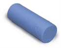 "Picture of Foam Cervical Roll 7"" x 19"" Blue Cover aka Neck Roll, Neck Pillow, Cervical Pillow, Clearance"