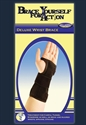 Picture of Brace Yourself For Action Deluxe Wrist Brace (Left/Large-XLarge) aka XL Wrist Brace, Large Wrist Support, Carpal Tunnel Wrist Brace, Carpal Tunnel Treatment, Clearance