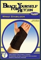 Picture of Brace Yourself for Action Wrist Stabilizer Universal (Left) aka Bell Horn Wrist Brace