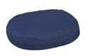 "Picture of 3"" Ring Cushion with removable Navy Cover (16"") Convoluted Foam aka Eggcrate Cushion, Donut Cushion, 3"" Seat Cushion, 3"" Seat Pad"