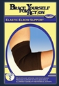 Picture of Brace Yourself For Action Elastic Elbow Support aka Bell Horn Elbow Brace, Athletic Elbow Wrap, Athletic Elbow Brace, Forearm Pain