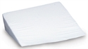 "Picture of 10"" Foam Bed Wedge (10""x 24""x 24"") (White Cover) 10"" Bed Wedge Pillow, Gurd Pillow, Leg Elevation Pillow, Respiratory Pillow, Acid Reflux Pillow"