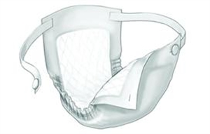 Picture of Maxicare™ Belted Undergarment Super (Pack of 10) aka Incontinent Pads, Sanitary Pads, Belted Shields, maxicare pads