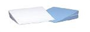 "Picture of Replacement Cover for Bed Wedge Cushion 7"" x 24"" x 24"" (Blue) - Clearance, pillow case"
