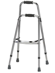 Picture of Folding Side (Hemi) Walker aka Folding Walker, Walkers, Folding Hemi Walker, One Side Walker