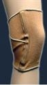 "Picture of Elastic 10"" Knee Sleeve with Criss Cross Support Back (Large) aka Knee Support, Knee Brace, Clearance"