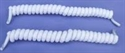 Picture of Coiler Shoe Laces (White) aka Stretchy Shoe Laces, Stretchy shoelaces, Clearance