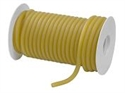 "Picture of Latex Tubing Amber Reel 3/16"" (1/16"" wall thickness)"