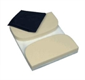 Picture of Seat Mate™ Coccyx Cushion with Removable Cover aka Seat Cushion, Donut Cushion, Tailbone Cushion, Wheelchair Cushion, Wheelchair Pad