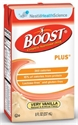 Picture of Boost Plus Very Vanilla, Rich Chocolate or Creamy Strawberry High Calorie Nutritional Drink with Vitamin D (Case of 27/8 oz. Drink Box) Oral Supplement, Dietary Supplement, NS93138, NS93238, NS93331