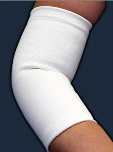 Picture of Elastic Elbow Support (Small) aka Bell Horn Elbow Sleeve, Elbow Brace, Small Tennis Elbow Support, Clearance
