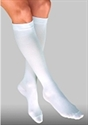 Picture of Bell Horn® Anti-Embolism Stocking 18 mmHg (Closed Toe - Knee High)(White/Small) aka Small Compression Stockings, Bell Horn Stockings, Edema Socks -PRICE REDUCED