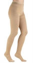 Picture of Microfiber Compression Hosiery Sizes A-D 20-30 mmHg aka Pantyhose (Beige) Compression Stockings, Dr. Comfort, Unisex Pantyhose