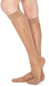 Picture of TheraLite Fashion Knee High Closed Toe Compression Stockings 20-30 mmHg (Beige) aka Legwear, Dr. Comfort, Support Socks, Support Hose
