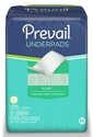 "Picture of Prevail® Disposable Fluff Underpads Regular 23""x 36"" (Case of 150) (Green) aka Chux, Prevail Underpads"