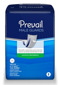 "Picture of Prevail® Male Guards a.k.a Guards for Men 13"" Long (Case of 208) aka Products for Men"