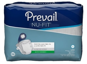 Picture of Nu-Fit® Adult Briefs Large (Pack of 18) aka Large Adult Diapers, nufit briefs
