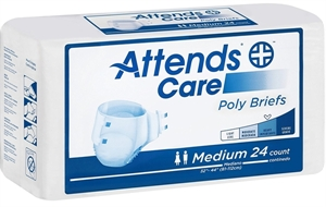 Picture of Attends® Adult Briefs (Medium)(Case of 96) aka Adult Diaper, Attends Briefs