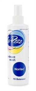 Picture of Ca-Rezz No Risc® Wash (8 oz. Bottle) aka No Rinse Body Wash, ostomy care, Incontinet Wash, Carezz Wash, Formerly FN10308, Norisc Wash see also Peri Wash, Adult Incontinence Products