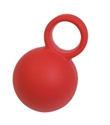 Picture of DMI Rehab Exercise Ball with Finger Loop (SOFT) aka Hand Therapy Ball with Finger Loop
