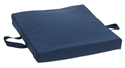"Picture of Reversible Flotation Cushion (16"" x 18"" x 2"")(Navy) aka 2"" Seat Cushion, Wheelchair Cushion, Gel Cushion, Foam Wheelchair Cushion, Soft Foam Cushion, Firm Foam Cushion"