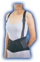 Picture of Industrial Back Support (Black) Bell Horn Back Brace, Lumbar Support, Lumber Brace