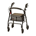 Picture of Nova Rolling Walker GetGo Classic (Under Seat Pouch Included) aka walker with wheels, rollators, Nova Walkers