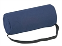 Picture of Lumbar Back Cushion Standard Support Full Roll (Navy Cover) aka Chair Cushion, Back Cushion, Back Roll, Wheelchair Cushion, Lumbar Cushion, Clearance