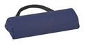 Picture of Lumbar Back Cushion Support Half Roll (Navy Cover) aka Lumbar Support Cushion, Back Roll, Back Pillow, Clearance
