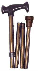 Picture of Adjustable Folding Cane, Nova Cane, Travel Cane, Bronze