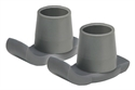 Picture of Nova Walker Ski Glide Attachment (1 pair - Gray) Walker Replacement Tips