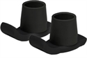 Picture of Nova Walker Ski Glide Attachment (1 pair - Black) Walker Replacement Tips, walker accessories