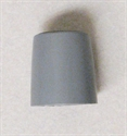 Picture of Nova Commode Replacement Tip (1 per box) (Gray) aka Replacement Cane Tips, Replacement Walker Tips #NOX84505