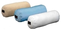 Picture of Nova Full Roll Blue Satin Pillow, Cervical Pillow, Cervical Roll, Neck Pillow, Neck Roll