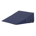 "Picture of Nova Folding Bed Wedge 10"" with Removable Cover (Navy Cover) aka Reflux Pillow, Gradual Slope Pillow, Hiatal Hernia Pillow, 10"" Wedge Pillow"