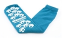 Picture of McKesson Slipper Socks, Above the Ankle, One Size Fits Most (Teal)(Pair) aka Non Slip Socks
