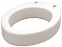 "Picture of Nova Elongated Toilet Seat Riser (each) 3 1/2"" Riser, Elongated Raised Toilet Seat"