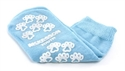 Picture of McKesson Terries Slipper Socks with Treads (Youth/Light Blue) aka Small No Slip Socks, Hospital Socks, Gripper Socks, McKesson 40-3849, Skid Resistant Tread Socks