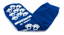 Picture of McKesson Terries Slipper Socks with Treads (Adult XL/Royal Blue) aka Large No Slip Socks, Hospital Socks, Gripper Socks, Grippy Socks, McKesson 40-3816, Skid Resistant Tread Socks
