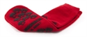 Picture of McKesson Above the Ankle Slipper Socks with Treads (Adult XL/Red) XL Slipper Socks, XL Gripper Socks, Hospital Socks, McKesson 40-3811-001