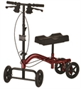 Picture of Nova Heavy Duty Knee Walker, Heavy Duty (Red)