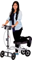 Picture of Nova Knee Walker with Brakes, Standard Height (Silver) aka Mobility Aid
