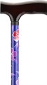 Picture of Nova Designer Aluminum Folding Cane (Maui Flowers) aka Walking Cane, Floral Cane, Fashion Cane, Travel Cane
