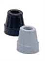 Picture of Nova Replacement Rubber Cane Tip aka Quad Cane Tips, Quad Cane Replacement Tips, Nova 5720 & 5620 Replacement ends (Black or Grey)