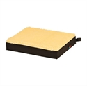"Picture of 3"" Fleece Top Gel Foam Comfort Wheelchair Cushion (18""w x 16""d x 3""h) aka 3"" Seat Cushion, 18"" Cushion"