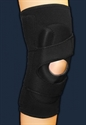 Picture of ProStyle® Lateral Patella Stabilizer Sleeve with Side-Pull Compression Strap (Left)(Large) aka Large Knee Brace, MCL Brace