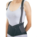 Picture of Industrial Back Support (Medium) DonJoy Back Brace, Medium Lumbar Support, Lumber Brace, Back Support with Suspenders, Formerly BH170M