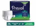 "Picture of Prevail® Protective Underwear Super Absorbency XX-Large 64""-80"" (Pack of 12) aka Bariatric Pull ups, Prevail Daily Underwear"