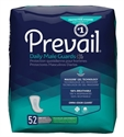 "Picture of Prevail Daily Male Guards 13"" Long (Pack of 52) aka Male Incontinence Pads, Mens Pads, dribbler, men's incontinence pads, Prevail PV-812"